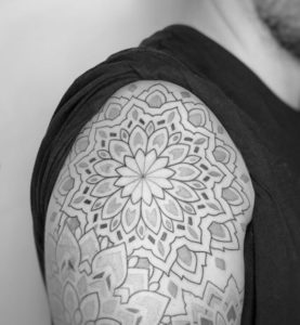 Pierrick - CaféInk - Tatouage Dot Work
