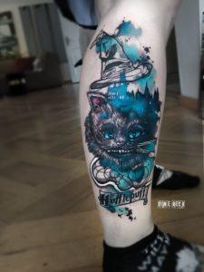 Dime Reck - Tatouage Aquarelle