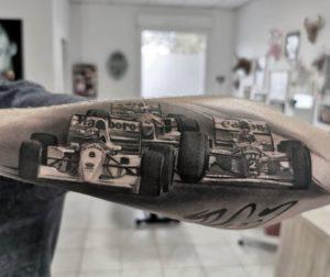 Jack Jouan - Tatouage Réaliste
