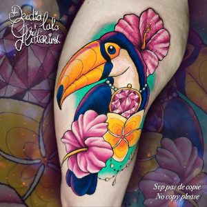 Deedia lala Glitterink - Tatouage Couleurs