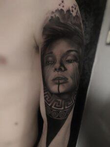 Dorian Glehen - Tatouage Portrait