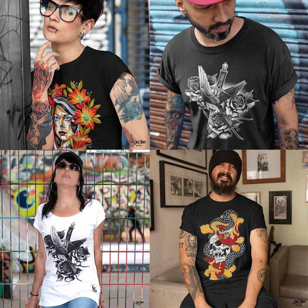 Ink Shirt Tattoo Clothing Brand tee-shirt