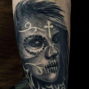 Keus tattoo - Tatouage Portrait
