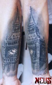 Keus tattoo - Tatouage Réaliste