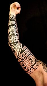 Po'oino Yrondi - Tatouage Polynésien
