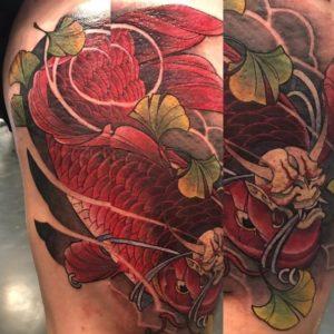 Psychédél'ink - Tatouage Asiatique