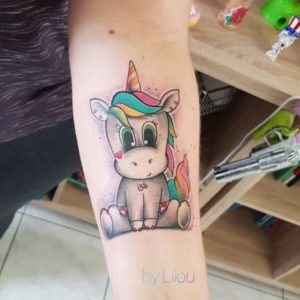 Lilou Ink - Tatouage Cartoon