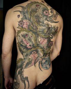 Groseb- Tatouage Japonais