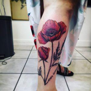 Toto Vicario - Tatouage Floral