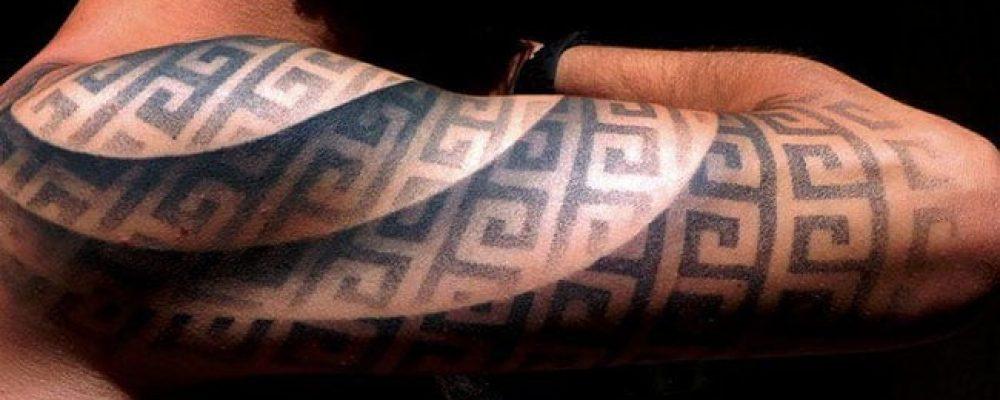 Ces tatouages à illusion d'optique