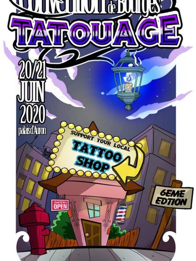 Convention Tatouage de Bourges