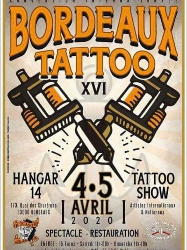 Bordeaux Tattoo Convention