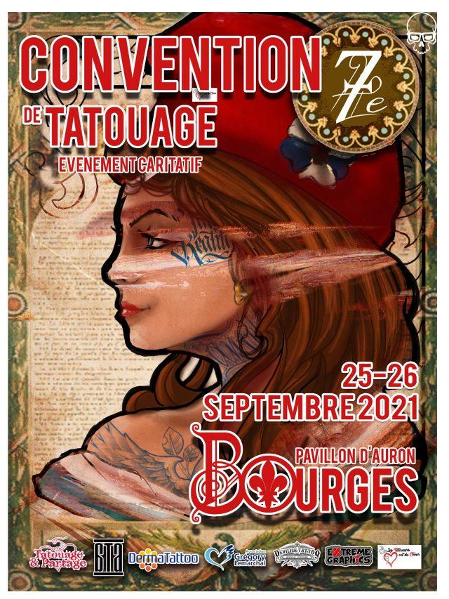 Bourges tatouage convention
