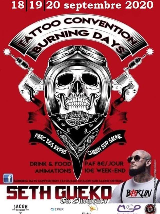 Convention Tatouage Burning Days
