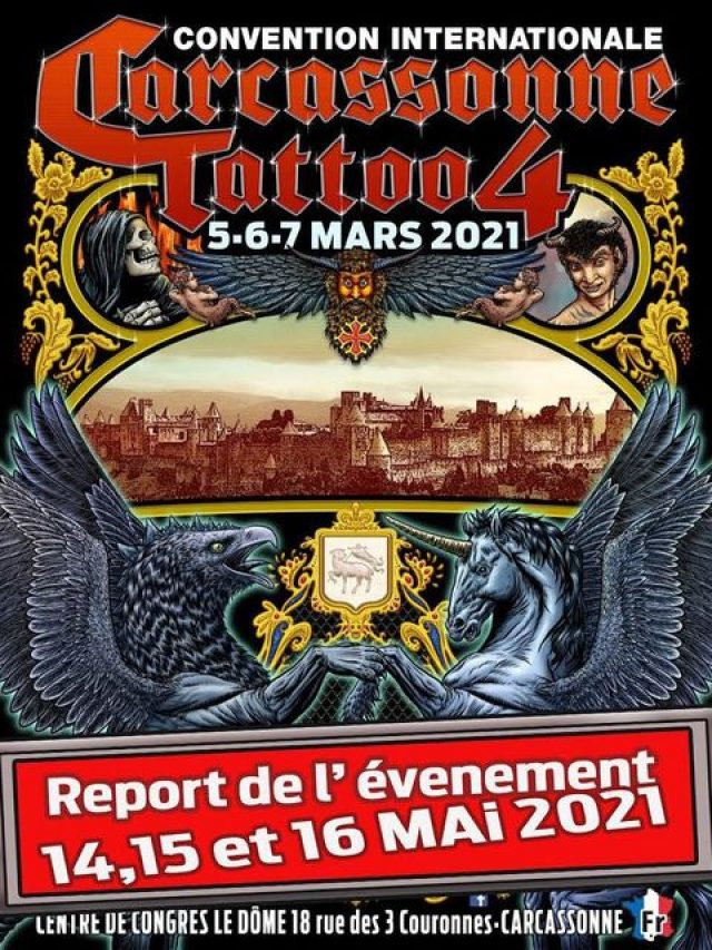 Carcassonne Tattoo Convention