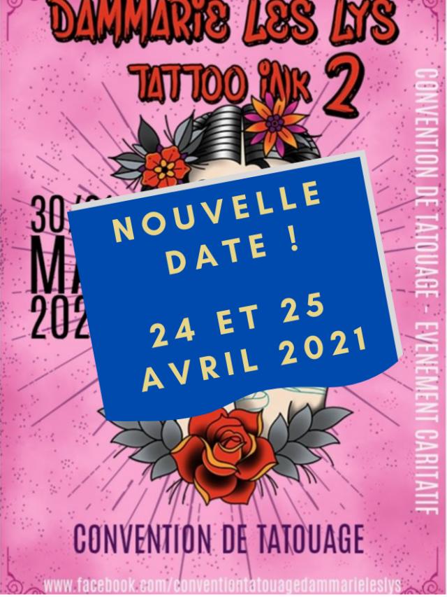 Convention tatouage de Dammarie Les Lys