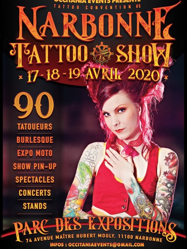 Narbonne Tattoo Show