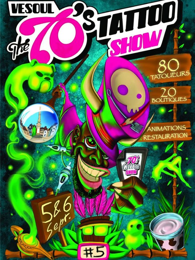 The 70'S Tattoo Show