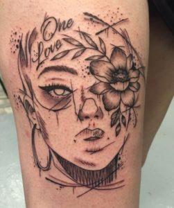 Low Seventeen Tattoo - Tatouage Esquisse