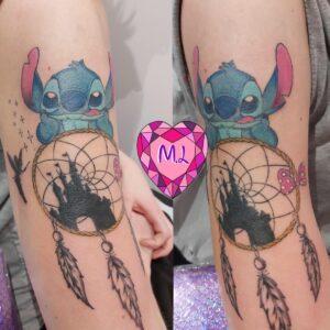Miss Licany Tattoo - Tatouage Disney