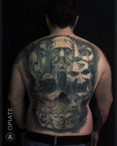 Cédrick Opiate - Tatouage Horreur